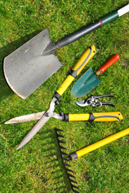 Essential garden tools are hand tools of course for Basic tools for planting