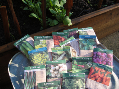Vegetable seed selection