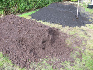 The soil mix will be adjusted for raised garden beds an for growing vegetables in containers
